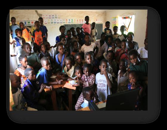 Zambia Children Laptop